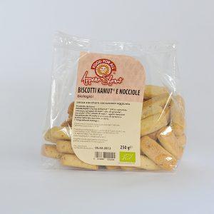 PensaBio Kamut Biscuits Hazelnut 250 gr