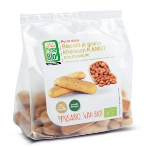 PensaBio Kamut Biscuits Almonds 250 gr