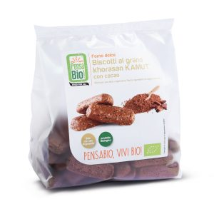 PensaBio Kamut Biscuits Cocoa 250 gr