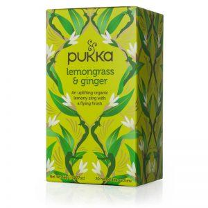 Pukka – Lemongrass & Ginger Herbal Tea 20tb