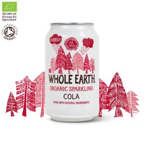 Whole Earth Organic Sparkling Cola Drink 330 ml