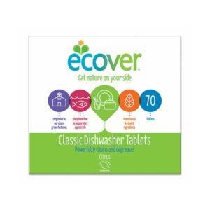 Ecover Dishwasher Tablets Classic 70pcs
