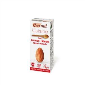 Ecomil – Cuisine Almond Sugar-Free 200ml