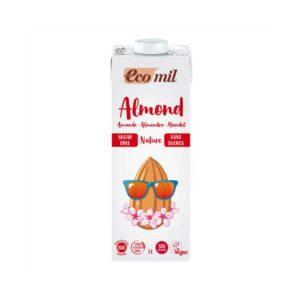 Ecomil – Almond Milk Natural Sugar-Free 1ltr