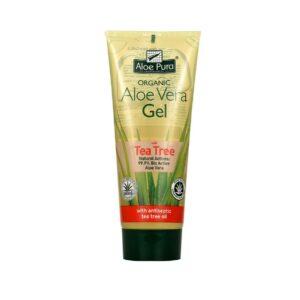 Aloe Pura - Aloe Vera Gel with Tea Tree Oil 200 ml