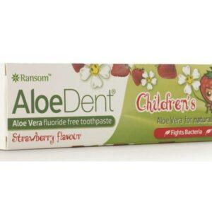 AloeDent Children's Toothpaste Strawberry 50ml