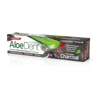AloeDent Toothpaste Charcoal Triple Action 100 ml