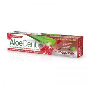AloeDent Toothpaste Pomegranate Triple Action 100 ml