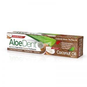 AloeDent Toothpaste Coconut Oil Triple Action 100 ml