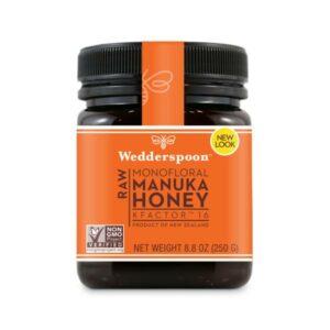 Wedderspoon – Raw Manuka Honey KFactor 16 250gr