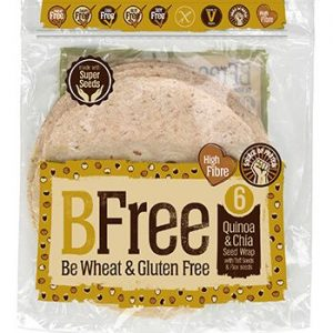 BeFree Quinoa & Chia Seeds Wraps 6 x 42 gr Gluten Free