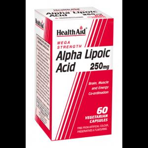 Health Aid – Alpha Lipoic Acid 250mg 60 capsules