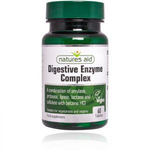 Natures Aid – Digestive Enzyme complex 60 tablets