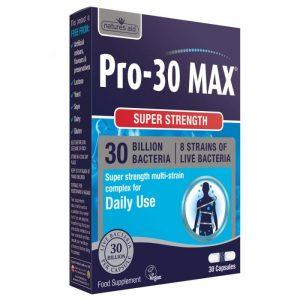 Natures Aid – Pro-30 Max Super Strength (30 Billion Bacteria) 30 capsules