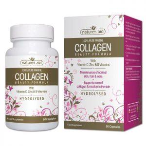 Natures Aid – Collagen Beauty Formula 90 capsules