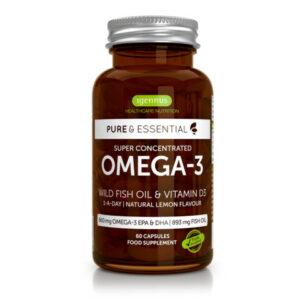 Igennus – Wild Fish Oil & Vitamin D3 60 capsules