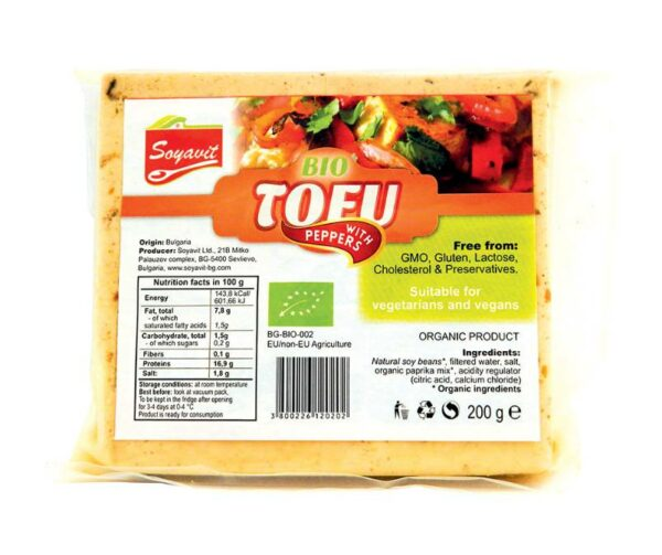 Soyavit – Tofu with Peppers 200gr