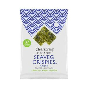 Clearspring – Seaveg Crispies Original 8gr