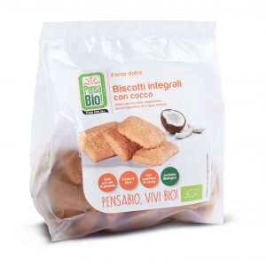 PensaBio Biscuits with Coconut Sugar Free 250 gr