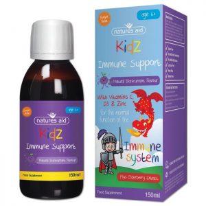 Natures Aid – Kidz Immune Support 150ml
