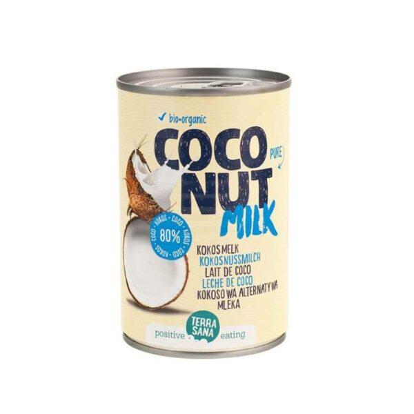 TerraSana – Coconut Milk 80% 400ml