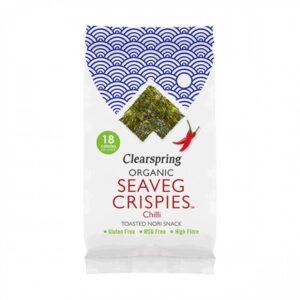 Clearspring – Seaveg Crispies Chilli 4gr