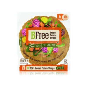 BeFree Sweet Potato Wraps 6×42 gr