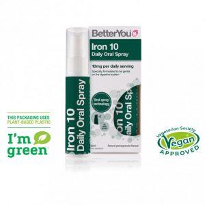 BetterYou – Iron 10 Oral Spray 25ml