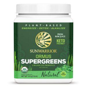 SunWarrior Ormus Supergreens Natural 225 gr