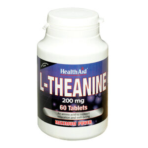 Health Aid – L-Theanine 200mg 60 tablets
