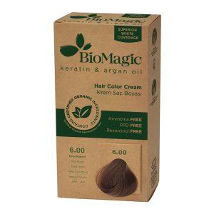 BioMagic Keratin & Argan Oil Hair Color Cream – 6.00 Dark Blonde
