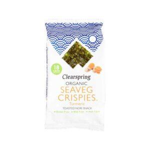 Clearspring – Seaveg Crispies Turmeric 4gr