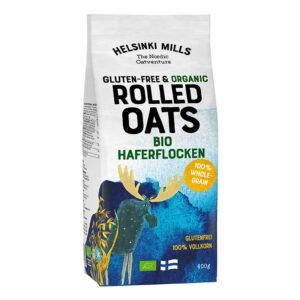 Helsinki Mills – Rolled Oats – Gluten Free 400gr