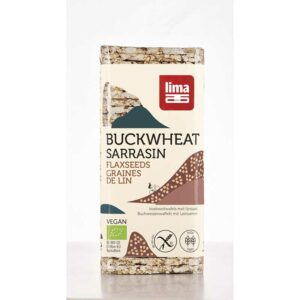 Lima – Buckwheat Cakes with Flaxseeds 130gr