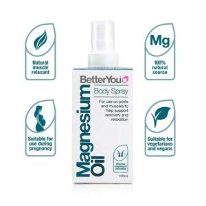 BetterYou – Magnesium Oil – Body Spray 100ml